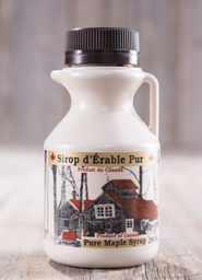 Maple syrup bottles <br> 250 ml plastic