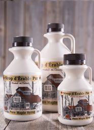Maple syrup bottles <br> 4 litre plastic