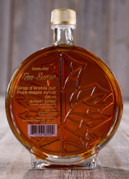 Maple syrup bottles <br>250 ml glass